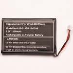 Ultra power battery kit for iPod 4th Generation and Photo