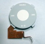 White Clickwheel Assembly for iPod Nano 1st Generation